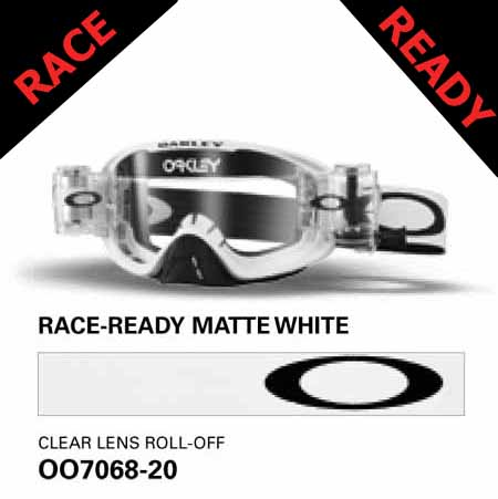 485a5190d6 Oakley o frame 2.0 mx goggles - race-ready - matte white with clear lens  and roll-offs, Oakley o frame 2.0 mx goggles, motorcycle, motorbike, ATV,  parts, ...