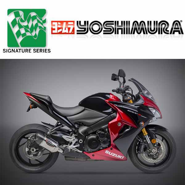 suzuki gsx s1000 f 2016 2018 yoshimura exhaust road. Black Bedroom Furniture Sets. Home Design Ideas
