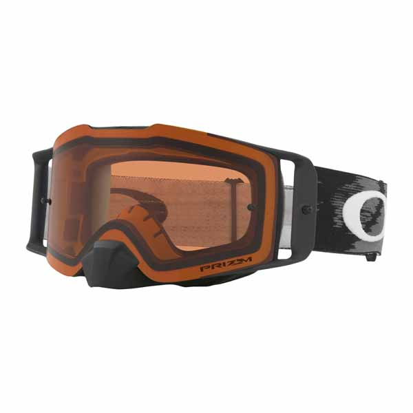 2a19c1b9aec Oakley front line mx goggles - matte black speed with prizm bronze lens
