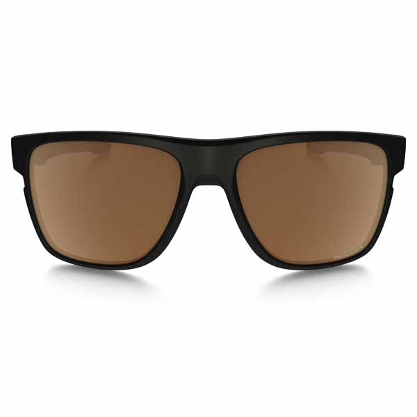 1e1e3ba9739 Oakley crossrange xl sunglasses - polarised - matte black frame with prizm  tungsten polarised lens