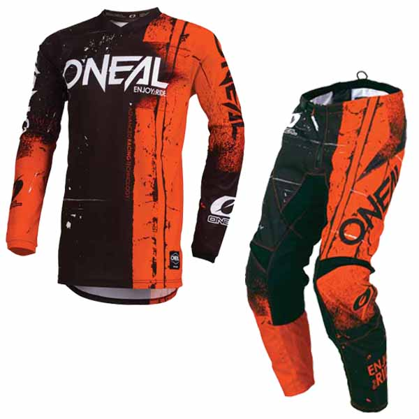 d545ddff2 Oneal 2019 youth element racewear offroad dirt jersey and pants set - shred  orange