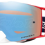Oakley front line mx tld sig. pre-mix rwb with prizm mx sapphire lens, Oakley front line mx goggles - eyewear compatible, motorcycle, motorbike, ATV, parts, accessories | Northern Accessories