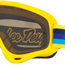 Oakley xs o frame mx tld pre-mix yellow blue with dark grey lens, Oakley xs o frame (for youth) mx goggles, motorcycle, motorbike, ATV, parts, accessories | Northern Accessories