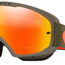 Oakley o frame 2.0 enduro dark brush orange with fire irid & clear lens, Oakley mtb goggles, motorcycle, motorbike, ATV, parts, accessories | Northern Accessories