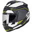 Arai profile-v full face helmet - sensation yellow, Arai full face helmets, motorcycle, motorbike, ATV, parts, accessories | Northern Accessories
