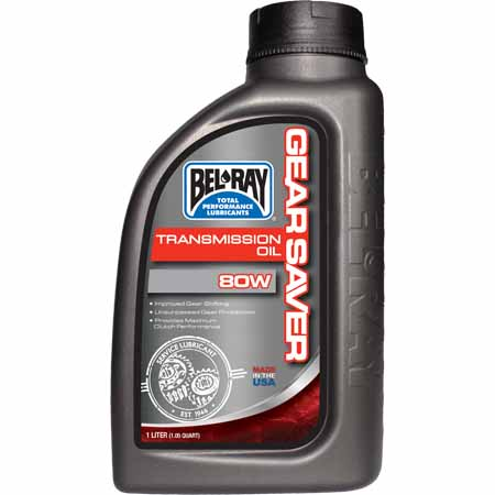 Bel ray gear saver motorcycle transmission oil 75w 80w for Northland motor oils lubricants